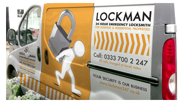 Landscape Image of the Lockman Birmingham Van