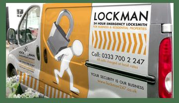 Landscape Image of the Lockman Birmingham Van