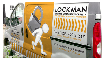 picture of locksmith van