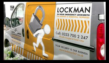 picture of locksmith van