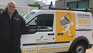 local locksmith van